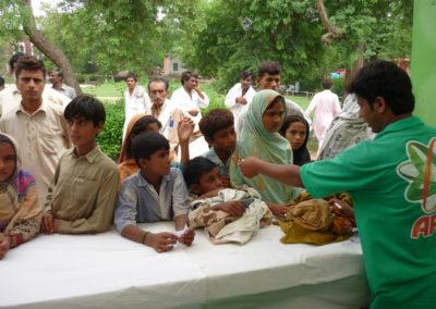 IDP Laundry stall